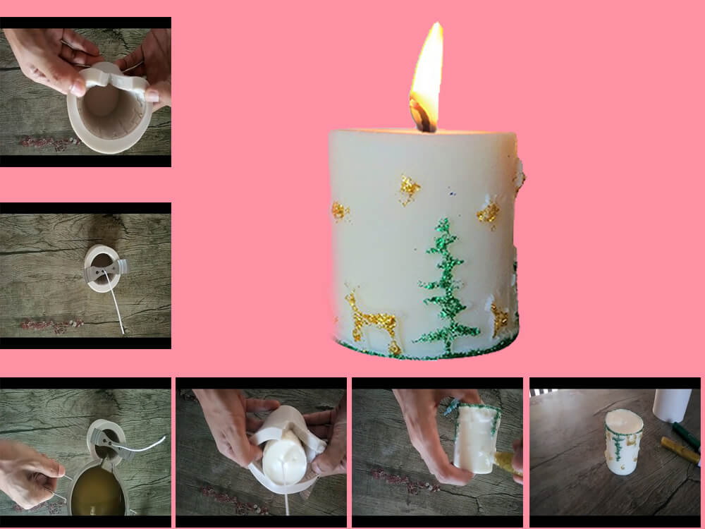 DIY Christmas Candles to Decor Your Home this Holiday Season 3