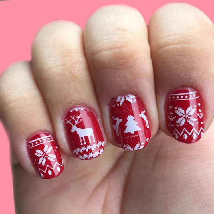 Christmas Nail 10