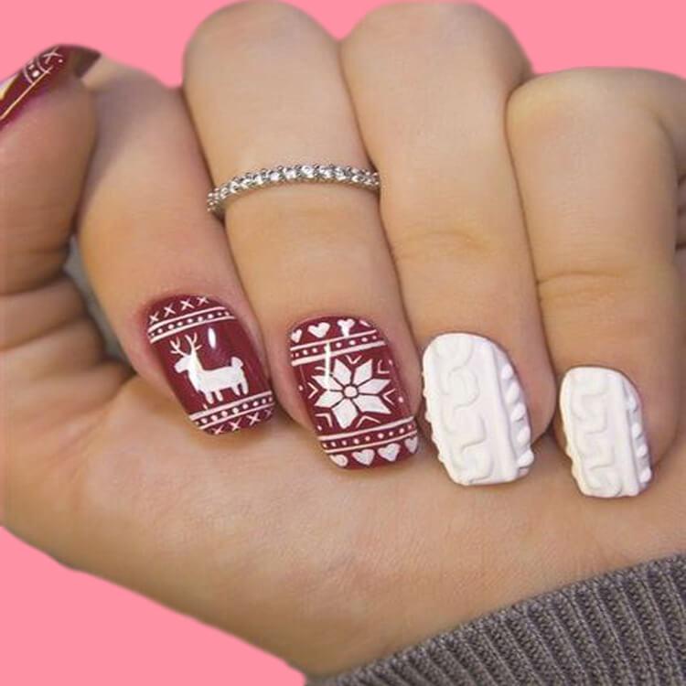 Christmas Nail 3