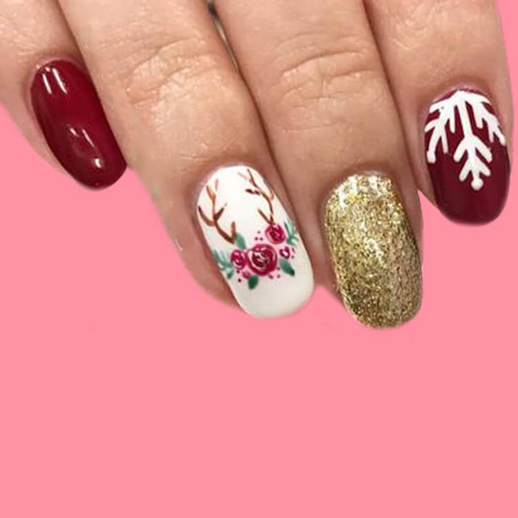 Christmas Nail 6
