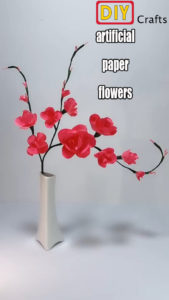 How to DIY Artificial Flowers with Papers