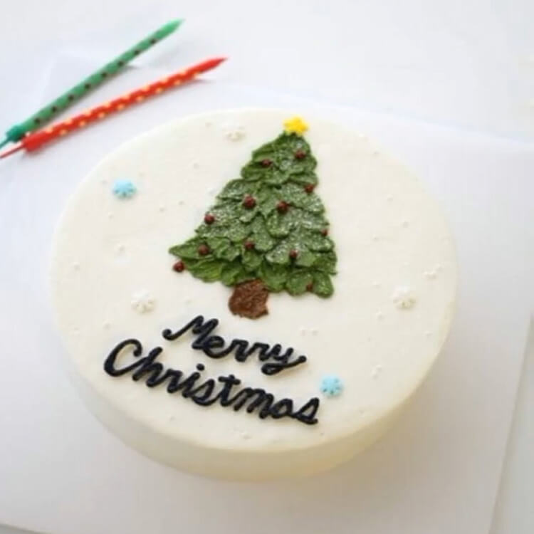 Christmas Cakes Ideas 12
