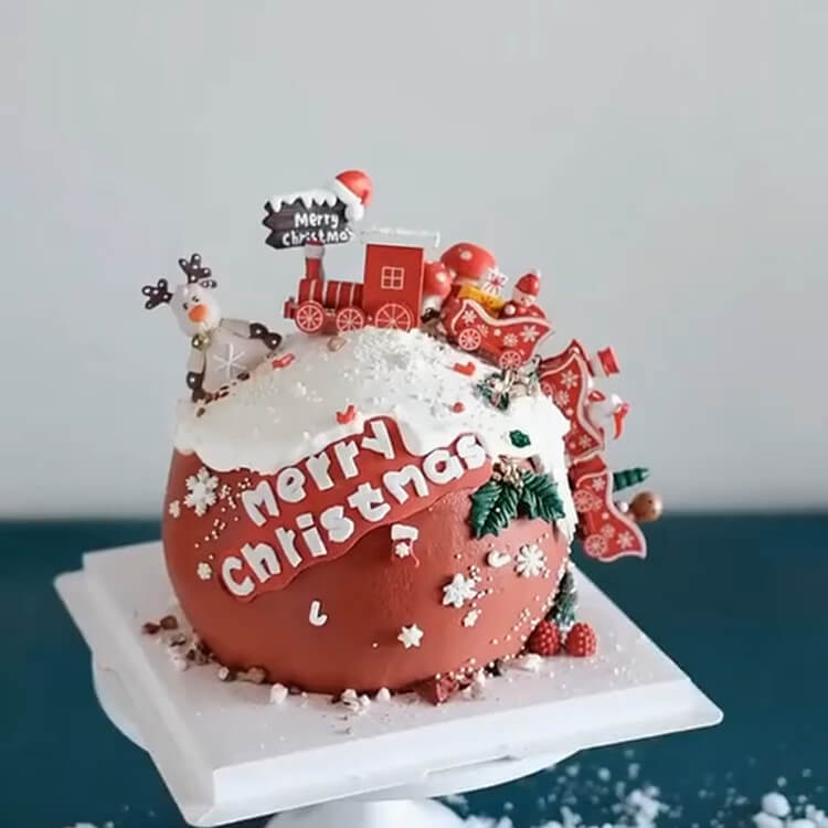 Christmas Cakes Ideas 15