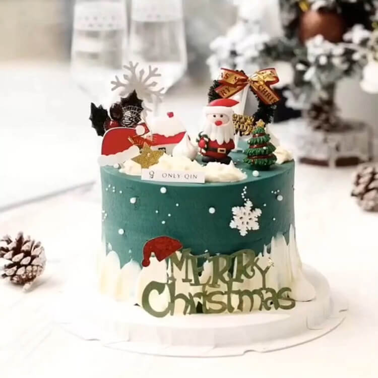 Christmas Cakes Ideas 21