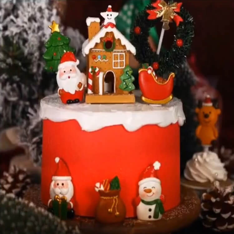 Christmas Cakes Ideas 23