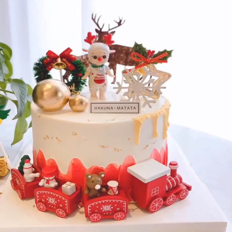 Christmas Cakes Ideas 25