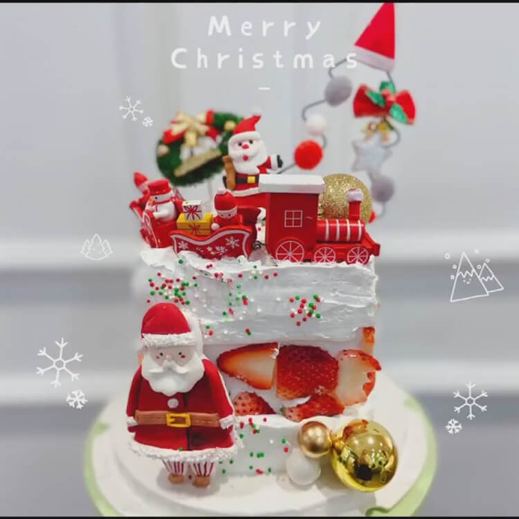 Christmas Cakes Ideas 27
