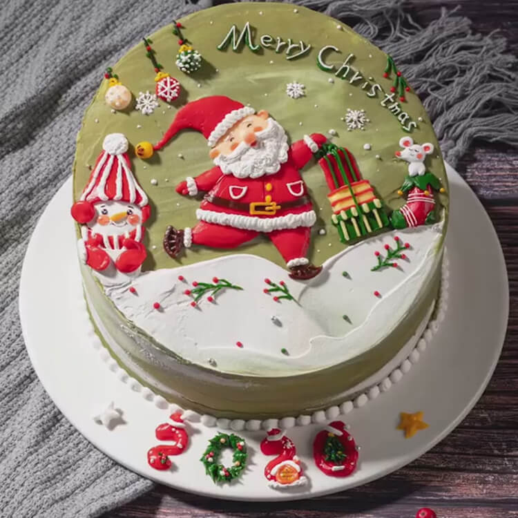Christmas Cakes Ideas 28