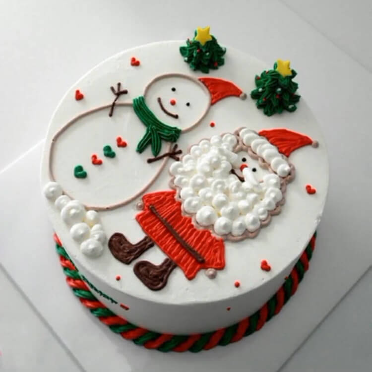 Christmas Cakes Ideas 3