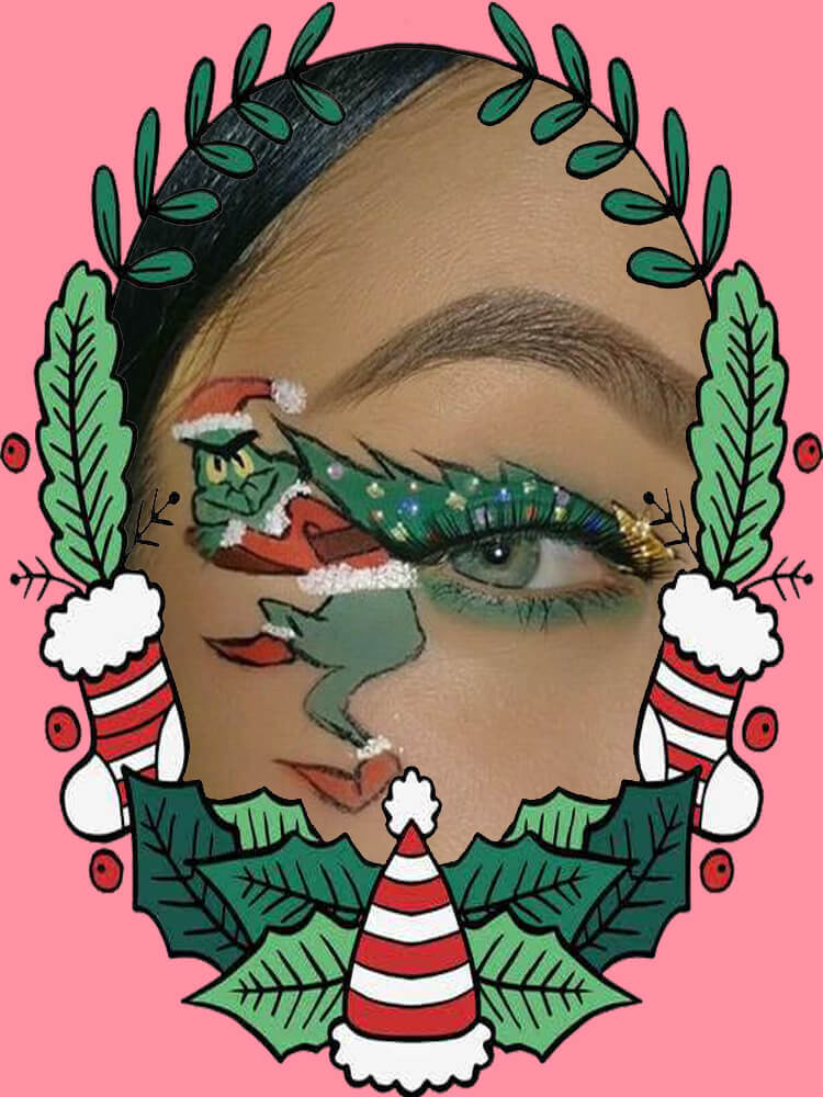 Christmas Eyeshadow Makeup 20
