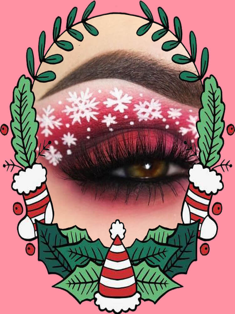 Christmas Eyeshadow Makeup 38