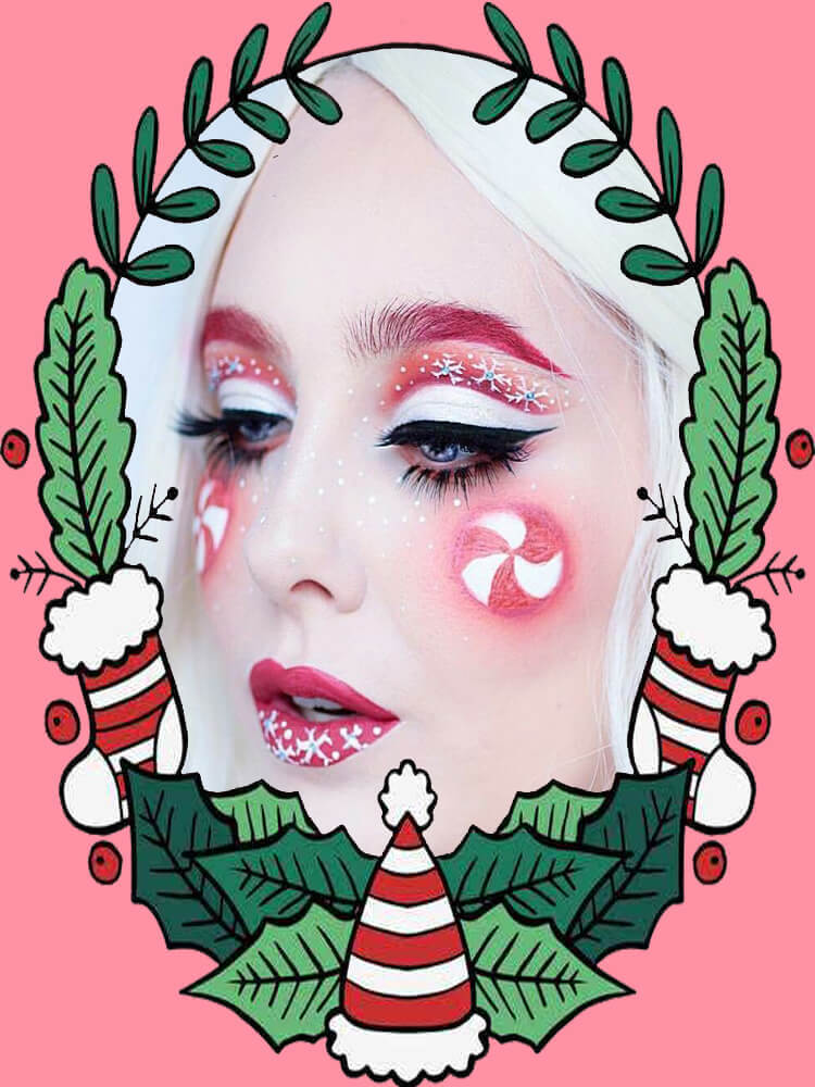 Christmas Face Painting 6