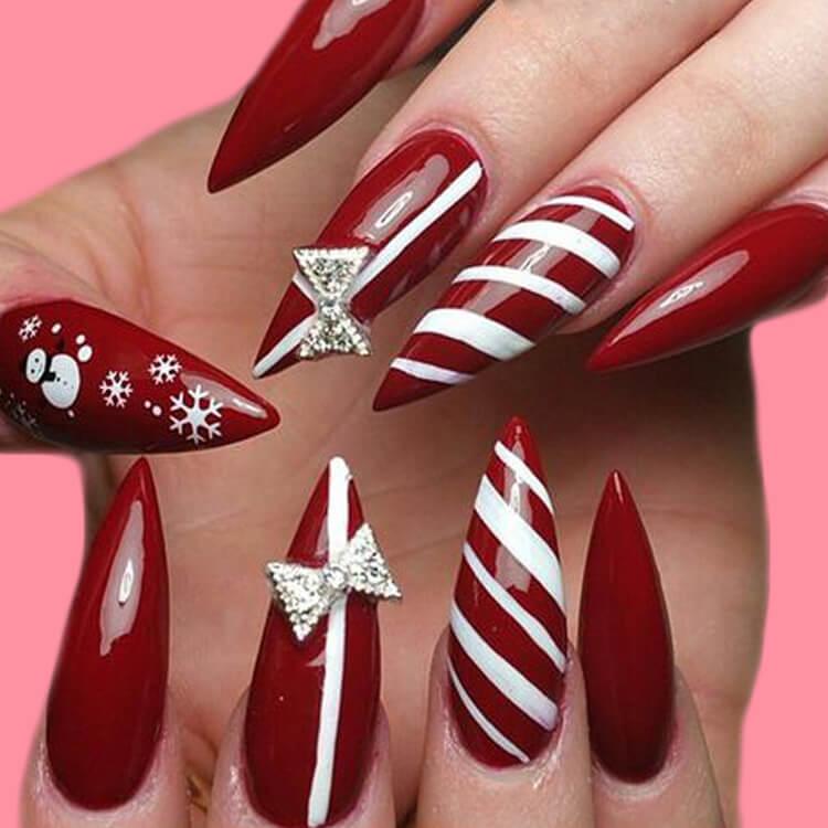 Christmas Nail Ideas 22