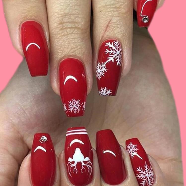 Christmas Nail Ideas 39