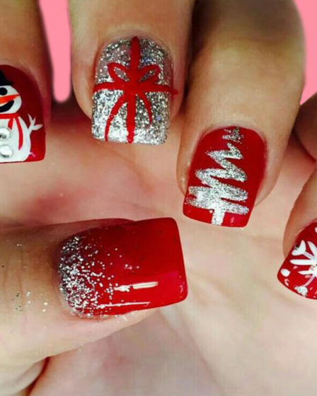 Christmas Nail Ideas 49