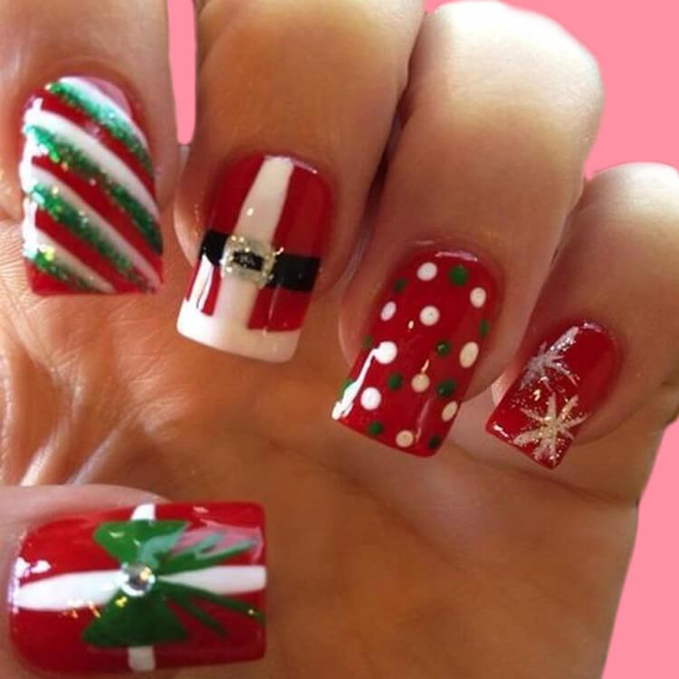 Christmas Nail Ideas 50