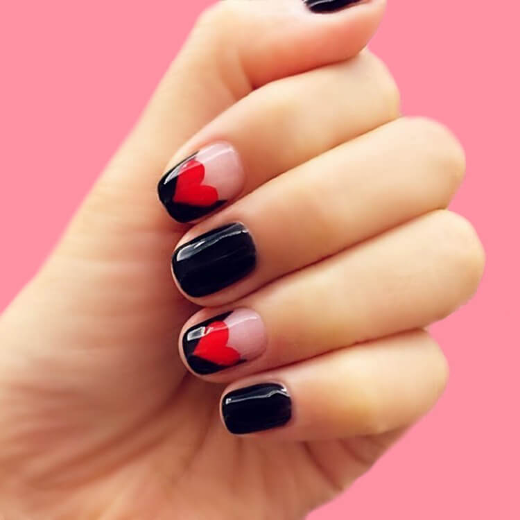 Show all Valentine's Day Nails Design for Romantic Day 13