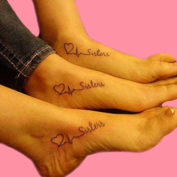 30+ Meaningful Matching BFF Tattoos Designs to Try for Ladies and Sisters 40