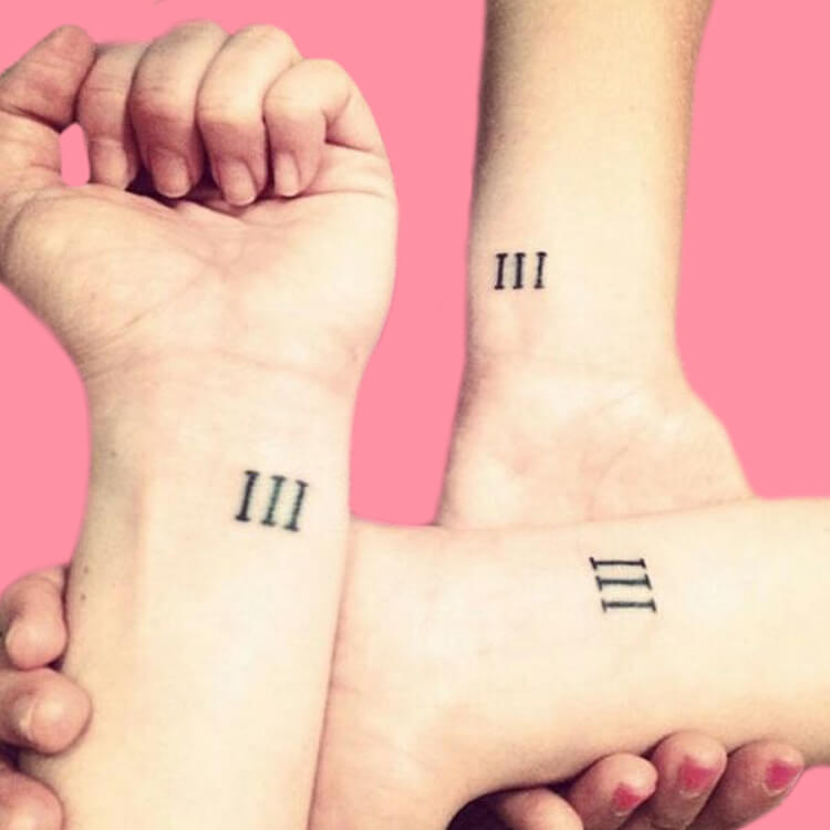 30+ Meaningful Matching BFF Tattoos Designs to Try for Ladies and Sisters 47