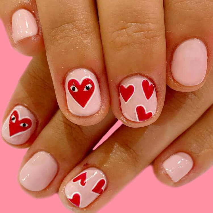 Show all Valentine's Day Nails Design for Romantic Day 5