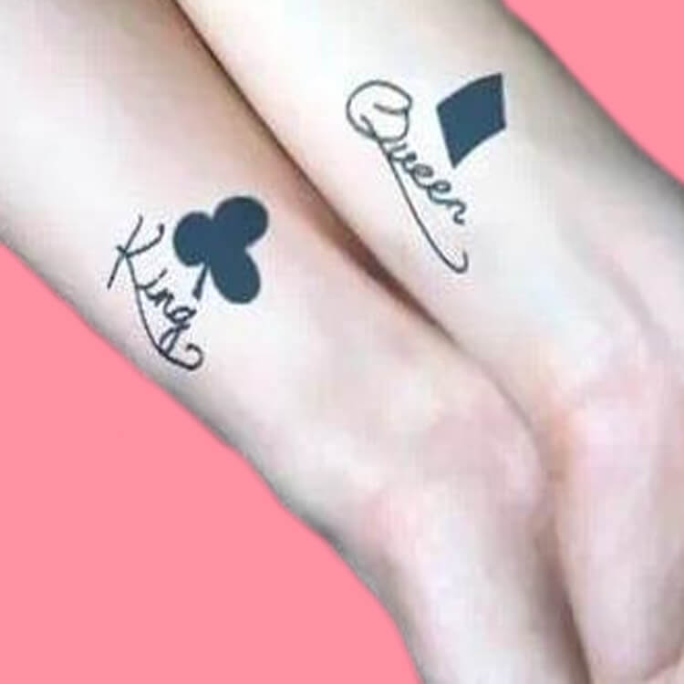 50 Meaningful Matching Couple Tattoo Designs for Lovers to try 52