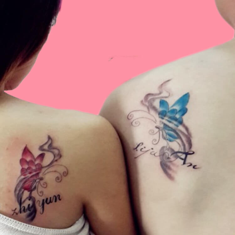 50 Meaningful Matching Couple Tattoo Designs for Lovers to try 58