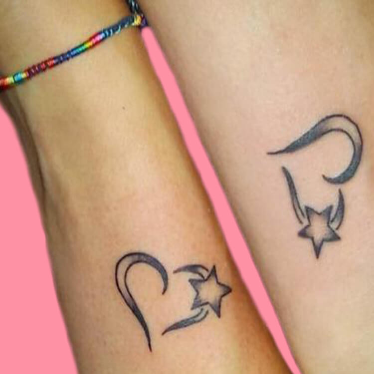 50 Meaningful Matching Couple Tattoo Designs for Lovers to try 60