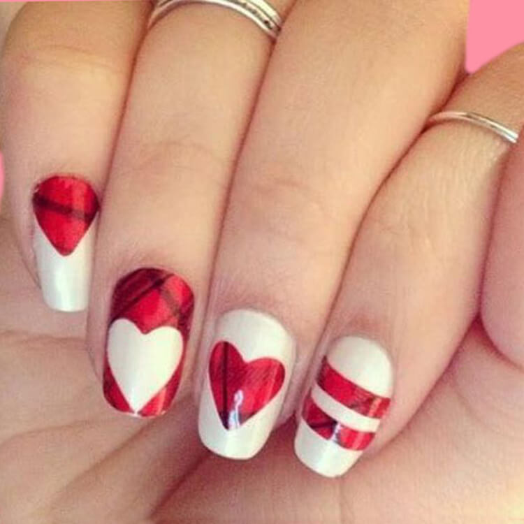 Show all Valentine's Day Nails Design for Romantic Day 6