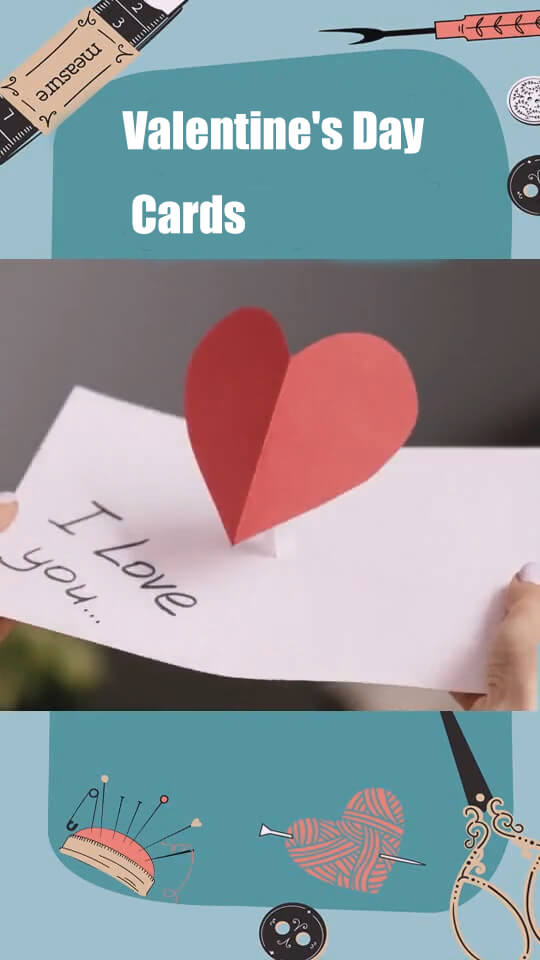Show Lovely Valentine's Day DIY Ideas and Valentine's Day Cards 7