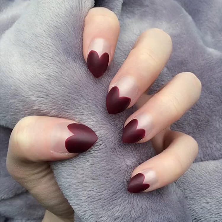 Valentine's Day Hearts Nail Designs 20