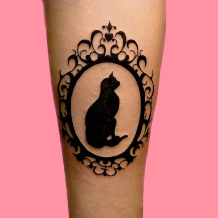 54 Cutest Cat Tattoo Designs to try 57