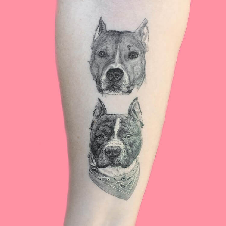 Dog Tattoo Ideas That Will Melt Heart 1