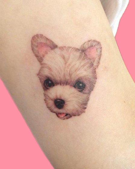 Dog Tattoo Ideas That Will Melt Heart 13