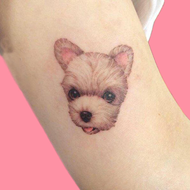 Dog Tattoo Ideas That Will Melt Heart 13