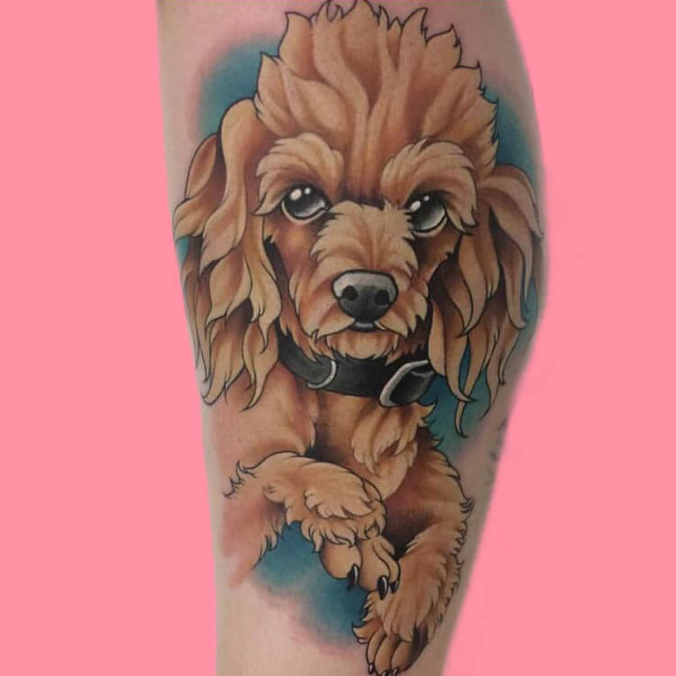 Dog Tattoo Ideas That Will Melt Heart 3