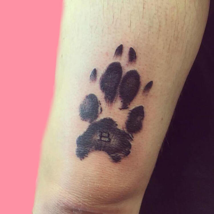 Dog Tattoo Ideas That Will Melt Heart 7