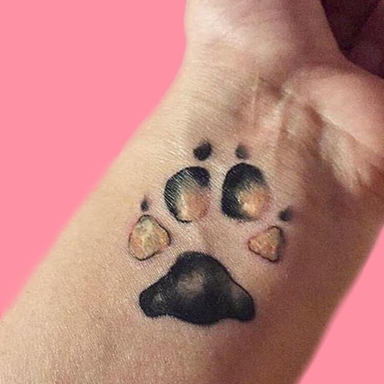 Dog Tattoo Ideas That Will Melt Heart 8