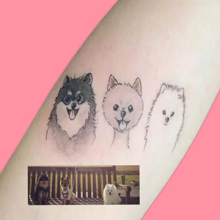 Dog Tattoo Ideas That Will Melt Heart 9