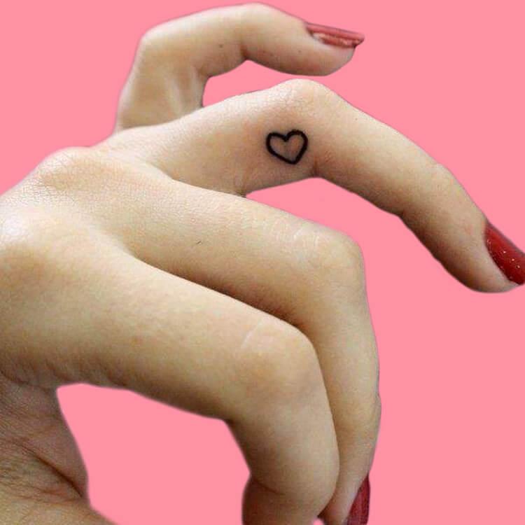 27+ Mini Finger Tattoos For Women Beauty 2019 Trend 35