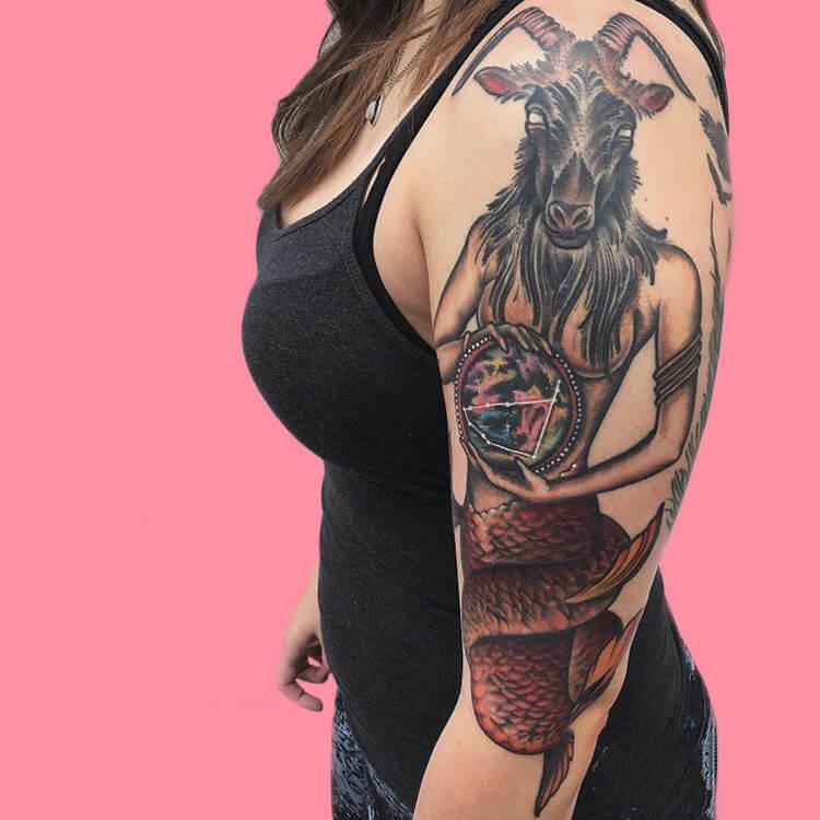 Constellation- Capricorn-1 tattoos