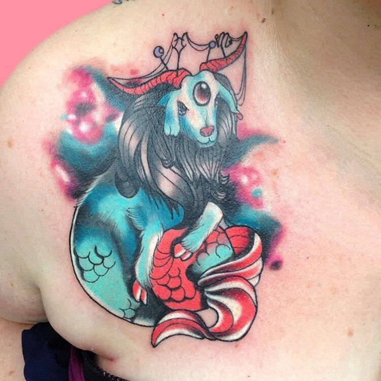 Constellation- Capricorn-2 tattoos