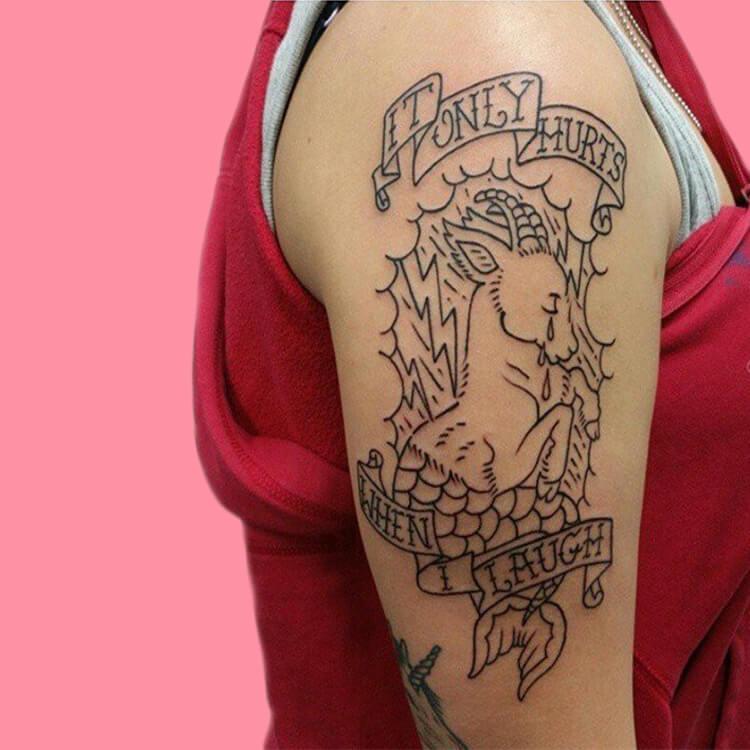 Constellation- Capricorn-5 tattoos