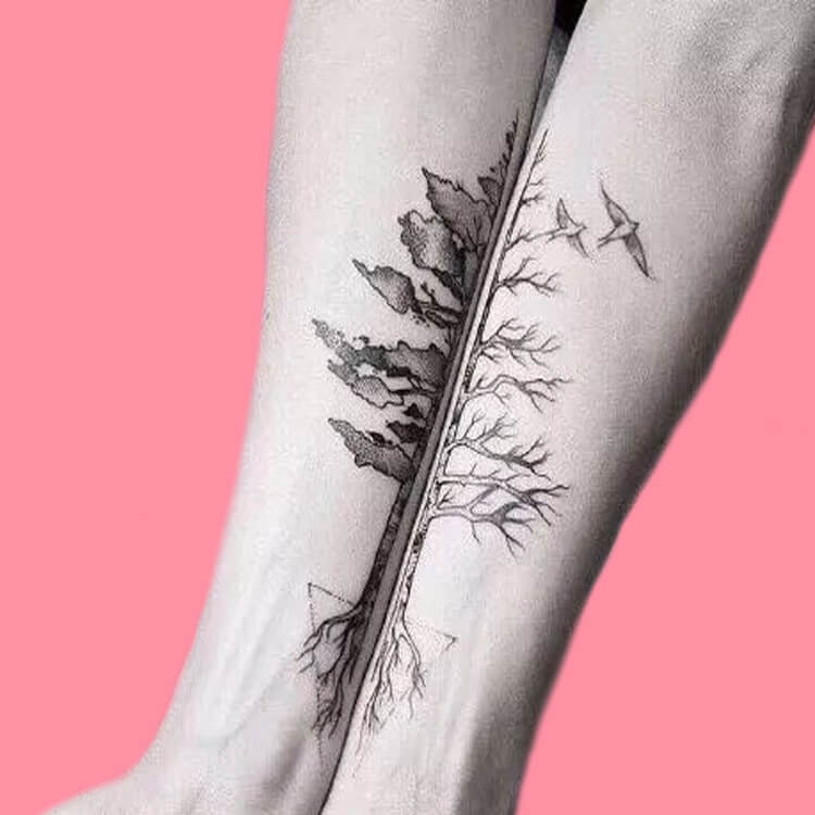 50 Meaningful Matching Couple Tattoo Designs for Lovers to try 66