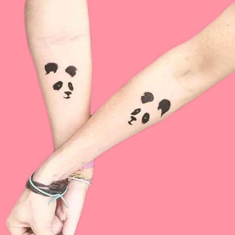 50 Meaningful Matching Couple Tattoo Designs for Lovers to try 74