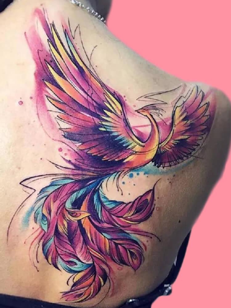 phoenix tattoo ideas 6