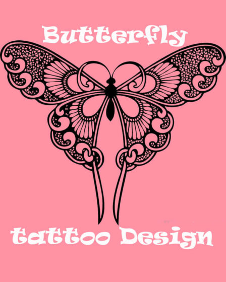 Show Beautiful Butterfly Tattoo Designs for Women