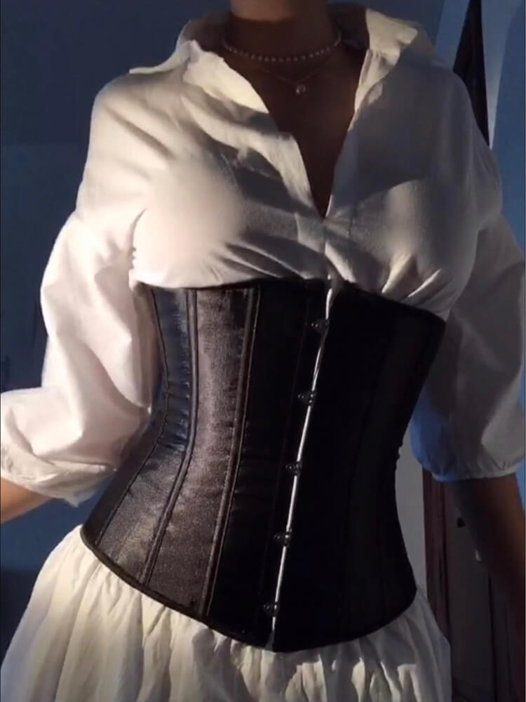 Corsets for Women Corset Top Bustier Lace Up Corset Plus Size Overbust